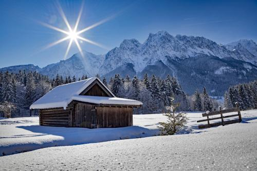 Grainau im Winter